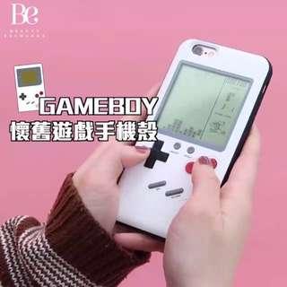 [現貨] WANLE 懷舊Gameboy 遊戲手機殻 (接受預訂iPhone X)