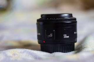 Canon 50mm 1.8 II Prime Lens