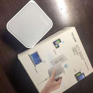 買兩樣折50$買三樣折100$~3c-TPLINK迷你口袋路由器 分享網路 wifi器 分享器 區域網路