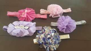 5 Baby Fashionable Headband