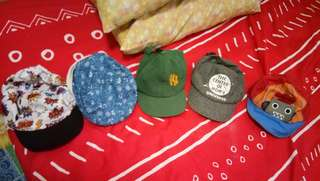 Baby boy's cap 5 for 700php