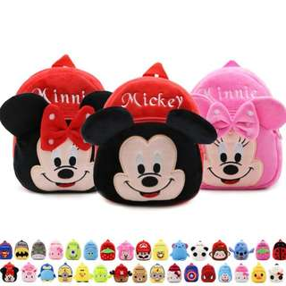 Mickey Minnie Mouse Kids Bag