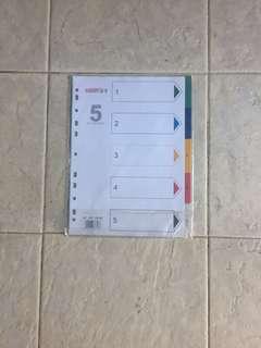 Paper organiser