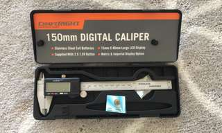craftright 150mm stainless steel digital vernier caliper