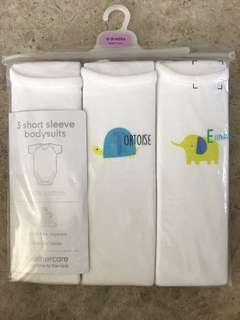 Mothercare short sleeve bodysuits
