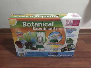 BNIB Botanical Experiments, Science Learning Kit, Made by Clementoni