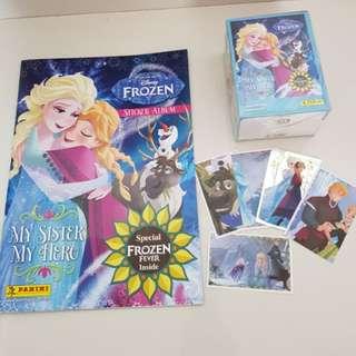 Frozen album with 250 sticker cards