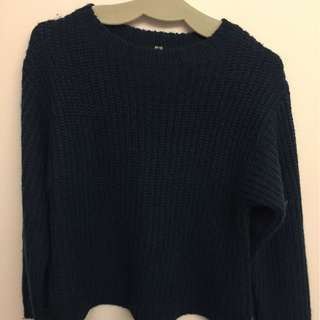 UNIQLO Blue Sweater