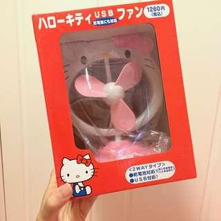 Hello Kitty 坐枱USB電風扇