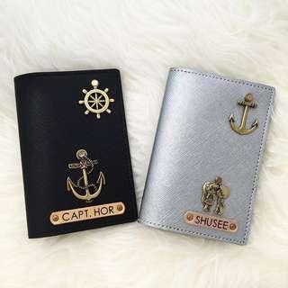 Custom Passport Cover personalised passport holder customised passport case