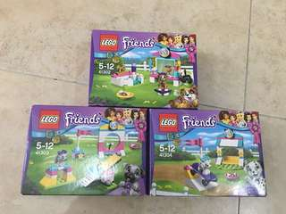 Lego Friend Set 41302, 41303, 41304