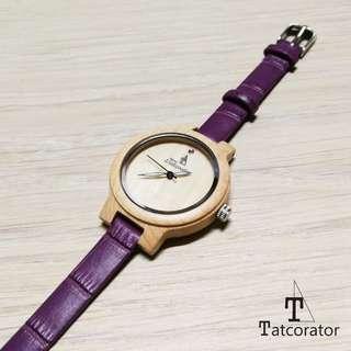 女裝手錶 木手錶 手錶 木錶 tatcorator