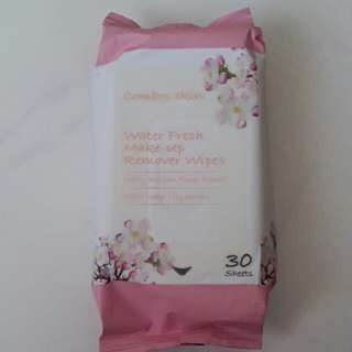 Combos skin water fresg make up remover wipes