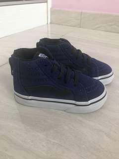 Vans Toddler Blue Shoes