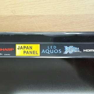 Sharp 牌led高清電視 尺寸:32吋