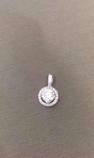 鑽石吊墜1.088卡(手快有)