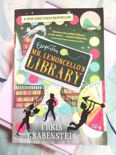 Escape From Mr. Lemoncello's Library - Chris Grabenstein