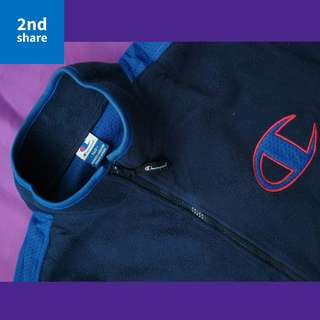 Jaket Champion Navy Original