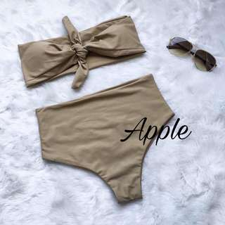 2 piece swimsuit (two way)