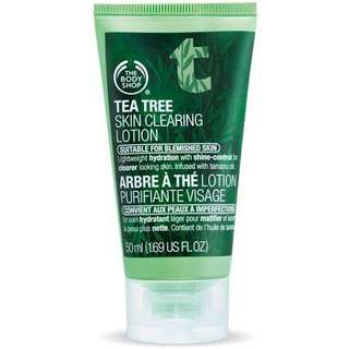 The Body Shop Tea Tree Skin Clearing Lotion (50ml)
