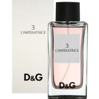 Dolce and Gabbana 3 l'imperatrice EDT