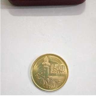 Singapore First Gold Coin 1969 $150