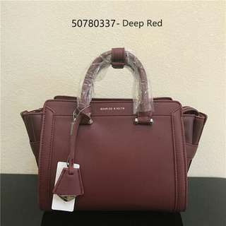 Charles & Keith Trapeze Bag AUTHENTIC
