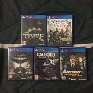 PS4 Game to let go