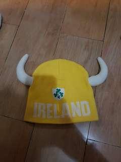 Topi Rajut Ireland Kuning
