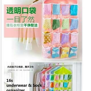 16 pcs organizer sock undwrware #furniture50
