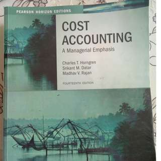 Cost Accounting : Horngren