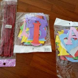 Birthday Decorative Materials