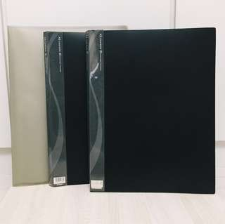 A3 Clear Book File 20 Pocket Pages