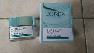 Loreal Pure Clay Mask Anti Pores