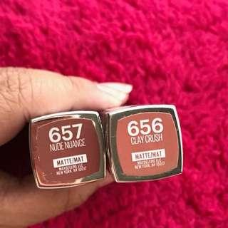 Maybelline Creamy matte lipstick
