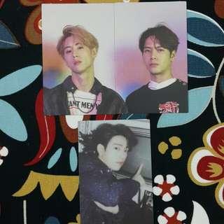 [WTT] GOT7 Eyes on you Photocard & Lyrics Poster