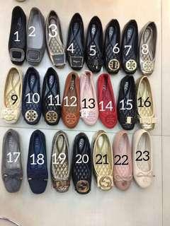 Sepatu flat import sol empuk dan nyaman