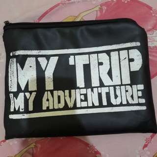 Tas Pouch My Trip Is My Adventure