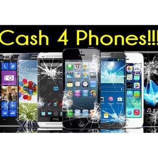 Buying smart phones faulty atau rosak with cash