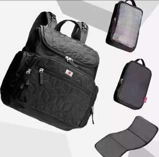UP (the skip hop same style )Diaper Bag(Black)