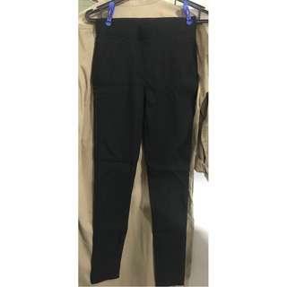 New 黑色窄腳褲(skinny )
