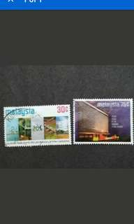 Malaysia 1974 25th Anniversary National Electricity Board s Complete Set - 2v Used Stamps