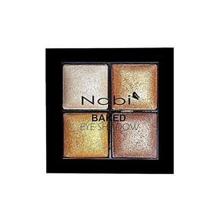 🚚 Nabi Quad Baked Eyeshadow - Gold