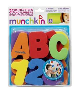 munchkin 36 bathletters and numbers