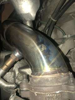 Mercedes C250 Turbo Downpipe 3-2.5inch