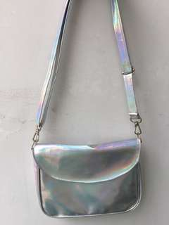 HOLOGRAM SLING BAG
