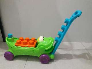 Fisher Price Musical Croc Wagon