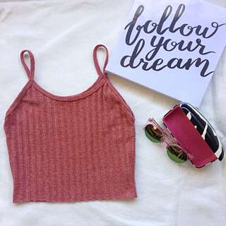 Summer outfit crop top(ribbed)