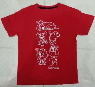 Kaos Tee Anak Hush Puppies Merah