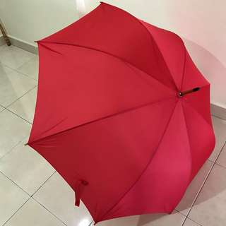 Umbrella - Large size in Red color